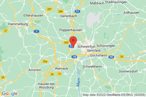 Karte Geldersheim