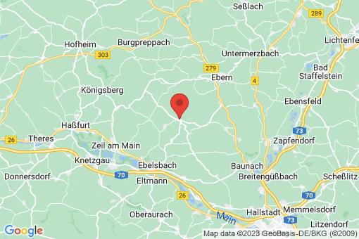 Karte Kirchlauter