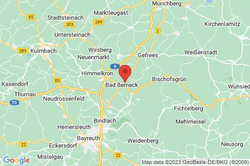 Karte Bad Berneck im Fichtelgebirge