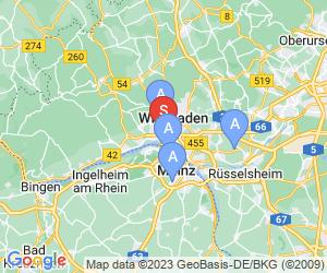 Karte für Wiesbadener-Nordwand