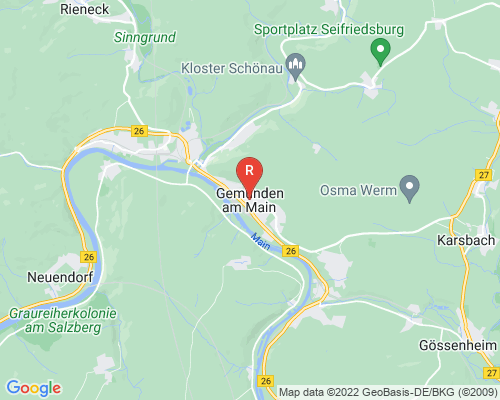 Google Karte von Rohrreinigung Gemünden