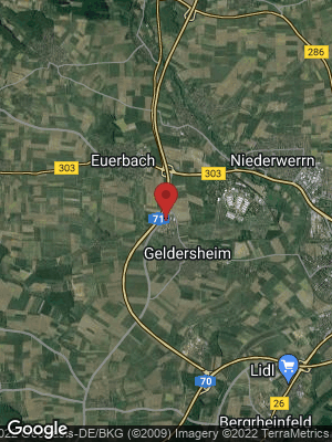 Google Map of Geldersheim