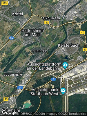 Google Map of Okriftel