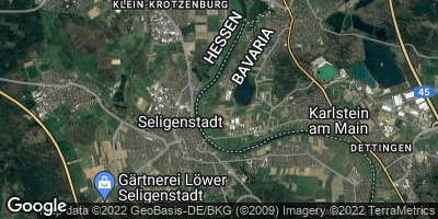 Google Map of Seligenstadt