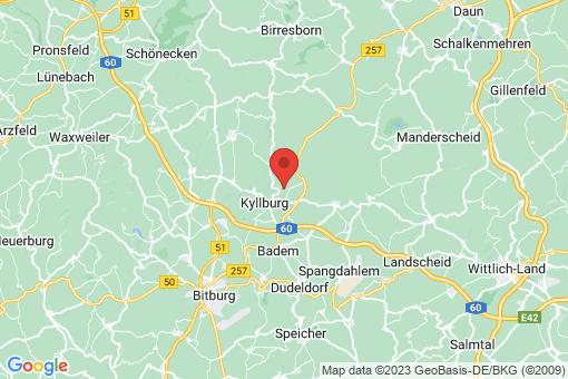 Karte Kyllburgweiler