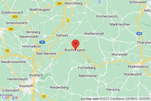 Karte Bischofsgrün