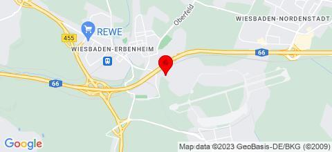 Google Map für Monteurzimmer Wiesbaden