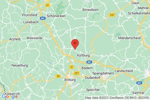 Karte Malbergweich