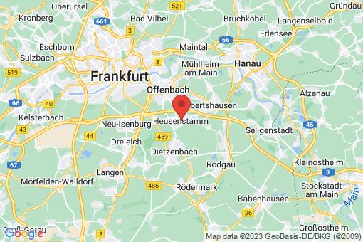 Karte Heusenstamm