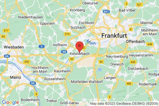 Karte Kelsterbach