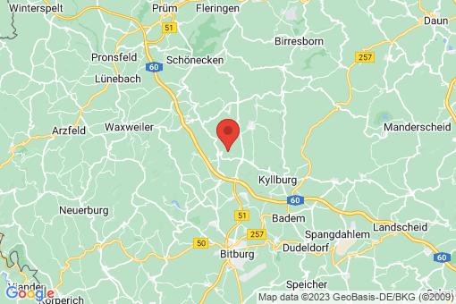 Karte Sefferweich