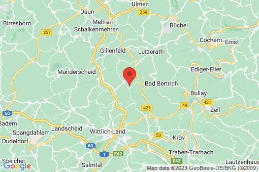 Karte Niederscheidweiler