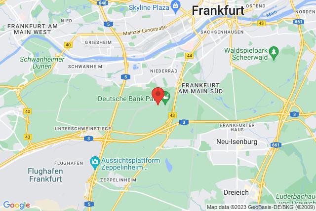 Bildungswerk of the Landessportbund Hessen Map