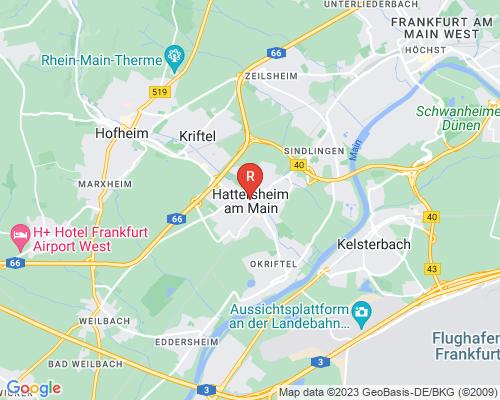 Google Karte von Rohrreinigung Hattersheim am Main