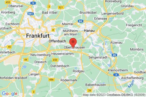 Karte Obertshausen
