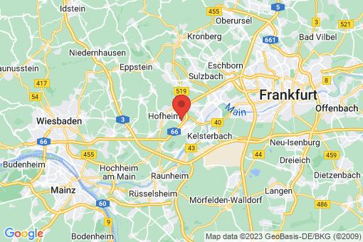 Karte Hattersheim