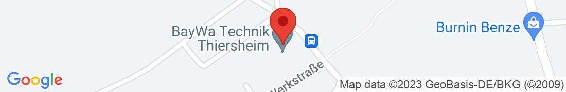 BayWa Technik Thiersheim Anfahrt
