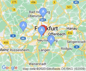 Karte für Paragon Golf Club Frankfurt e.V.