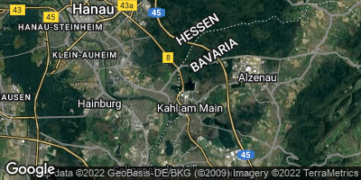 Google Map of Kahl am Main