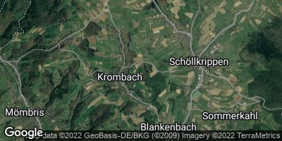 Google Map of Krombach
