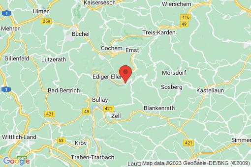 Karte Senheim-Senhals