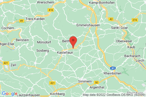 Karte Gödenroth
