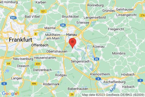 Karte Hainburg