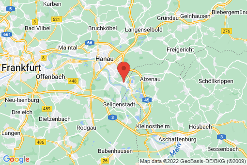 Karte Großkrotzenburg