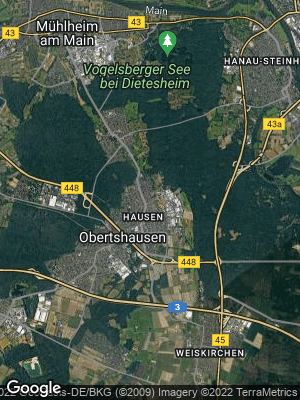 Google Map of Hausen