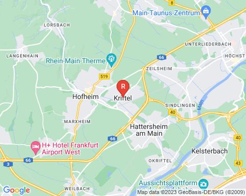 Google Karte von Rohrreinigung Kriftel