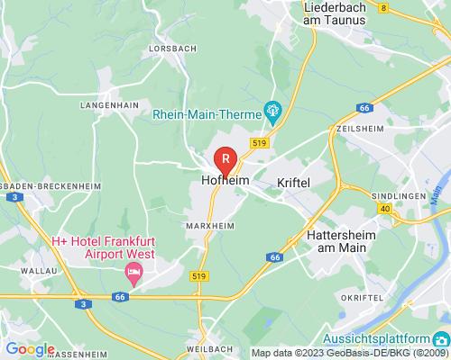 Google Karte von Rohrreinigung Hofheim am Taunus