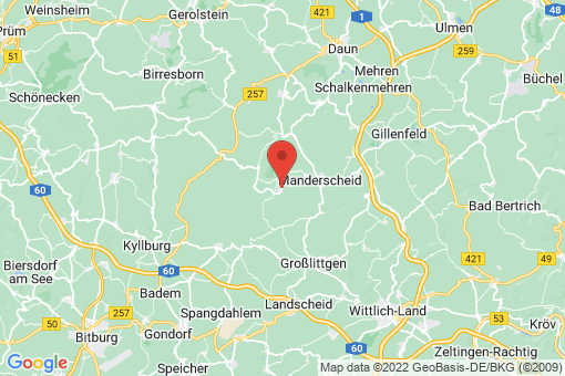 Karte Bettenfeld