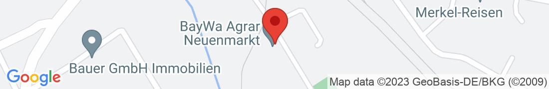 BayWa AG Neuenmarkt Anfahrt