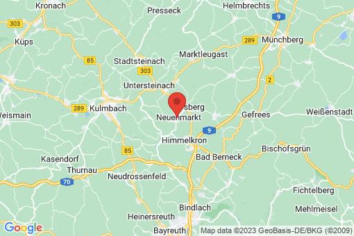 Karte Neuenmarkt