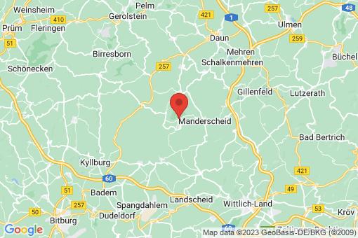 Karte Meerfeld