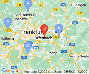 Karte für AbenteuerPark Offenbach