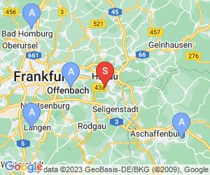 Karte für Waldseilpark Hanau