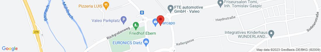 BayWa Technik Ebern Anfahrt