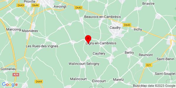 Google Map of 50.0994789,3.3468804