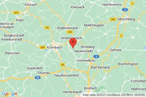 Karte Ködnitz