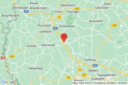 Karte Feuerscheid