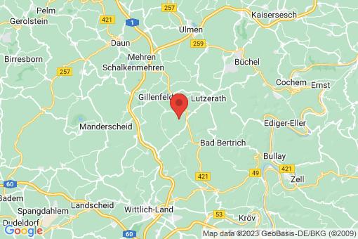 Karte Strotzbüsch