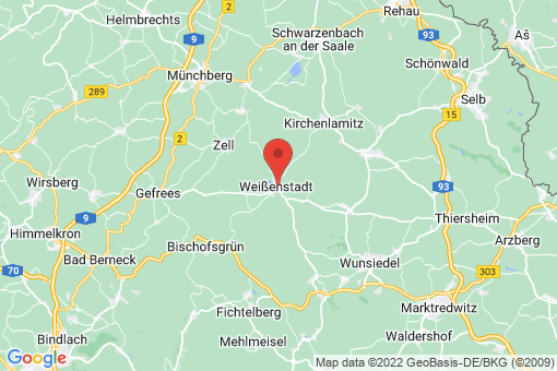 Karte Weißenstadt