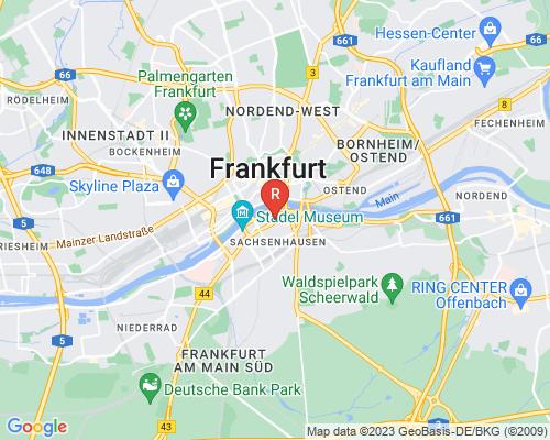 Google Karte von Rohrreinigung Frankfurt am Main