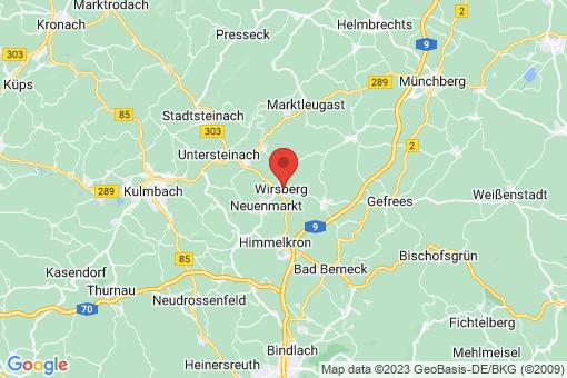 Karte Wirsberg