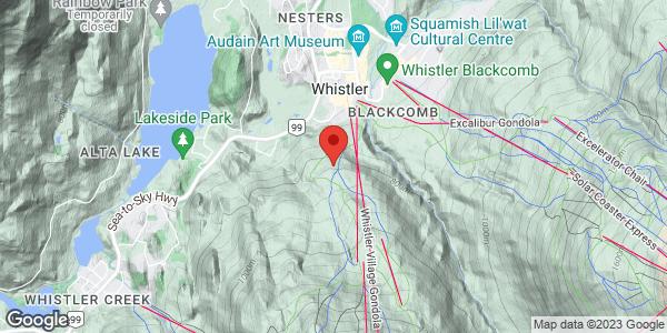 Whistler area skiing