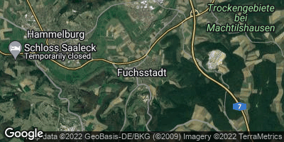 Google Map of Fuchsstadt