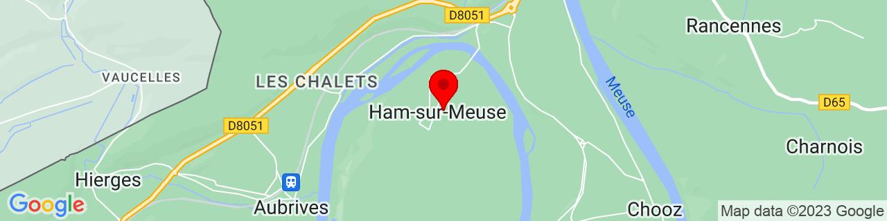 Google Map of 50.11018, 4.78097