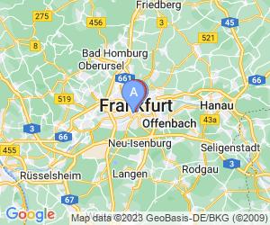 Karte für Motel One Frankfurt-Römer