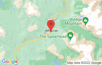 Map of Whistler